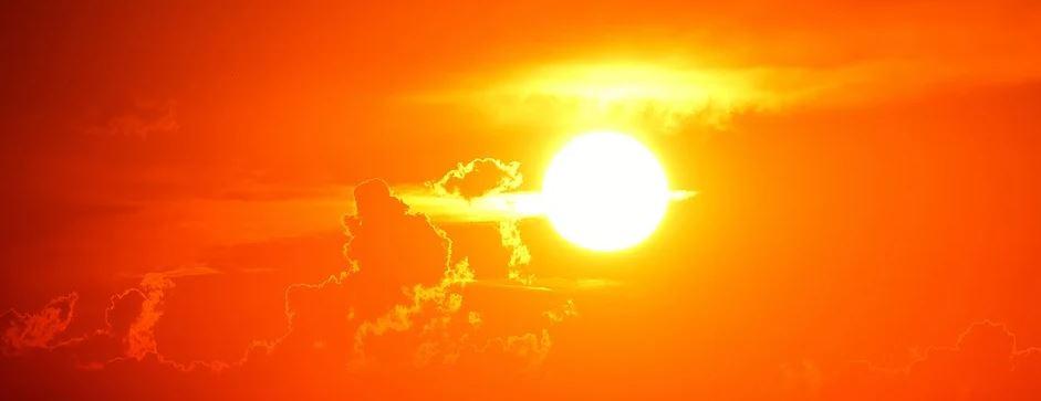 hřejivé slunce