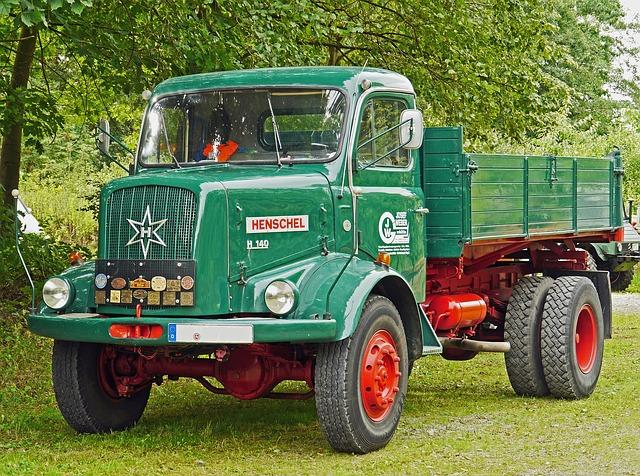 henschel nákladní automobil