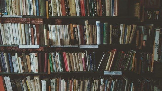 plná knihovna