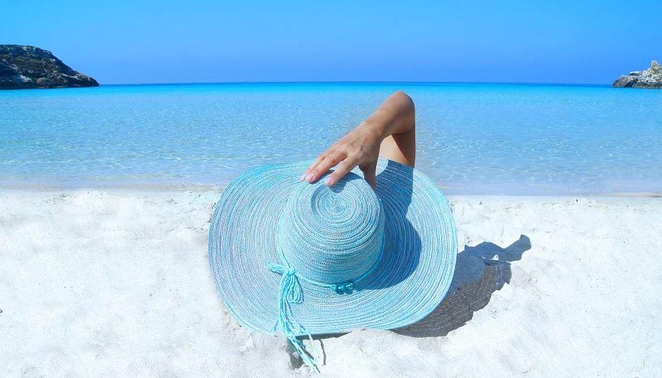 pobyt na pláži